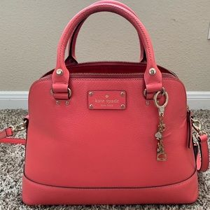 Kate Spade Pink Leather Crossbody Purse